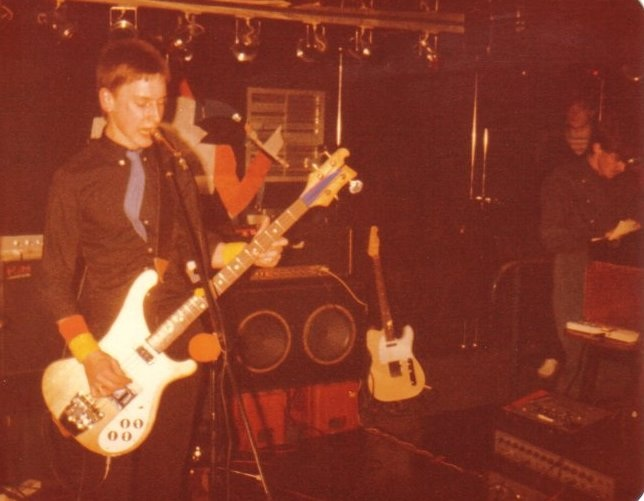 Me and Kev, Xerox Four appearing at Hero's Sunderland, February, 1982.