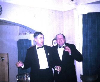 Dad and Larry, New Year 1966-67 (4.8)